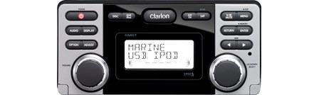 radio clarion cmd7, novo, sem uso, na embalagem e completo.