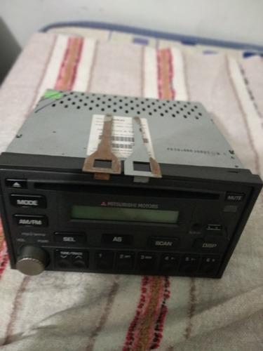 rádio clarion me-8h3313mb-01 usb  mitsubishi motors original