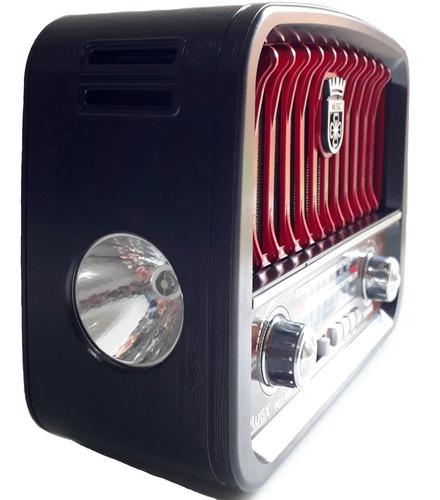 radio classico retro vintage 3 faixas am fm sw usb pen drive