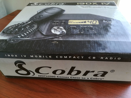 radio cobra 19dx iv