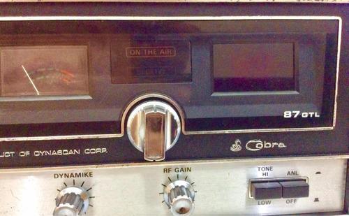 radio cobra 87 gtl base