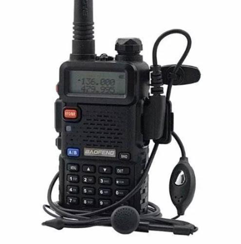 rádio comunicador ht dual band uhf vhf uv-5r fm fone ptt