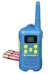 radio comunicador motorola mg160 canais 18km - azul envio já