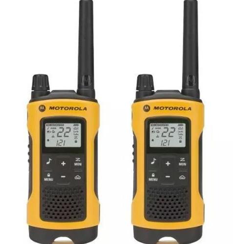rádio comunicador t400mc 56km talkabout walk talk motorola