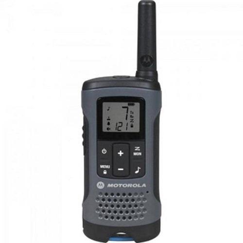 radio comunicador talkabout 32km t200br cinza motorola