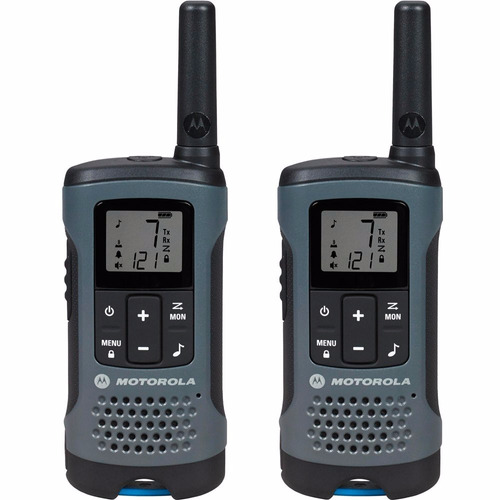 radio comunicador talkabout 32km t200br cinza motorola + nfe