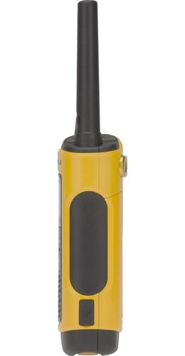 rádio comunicador talkabout 35km t400br amarelo motorola