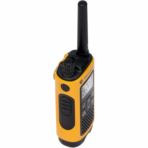 radio comunicador talkabout 35km t400br amarelo motorola+nfe
