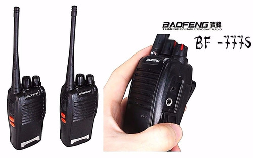 radio comunicador walk talk baofeng bf-777s profissional