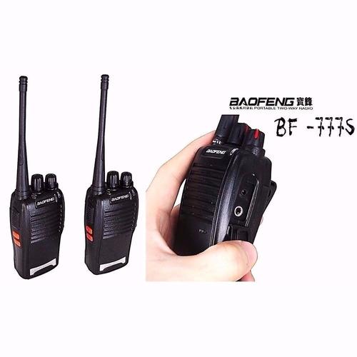 radio comunicador walk talk baofeng bf-777s talkabout