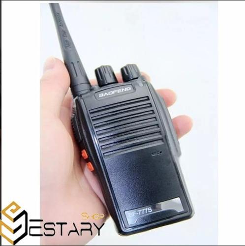 radio comunicador walk talk baofeng bf-777s talkabout+fone