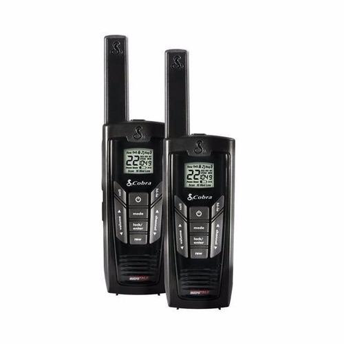 radio comunicador walkie talkie cobra cxr-925 p/ até 56km