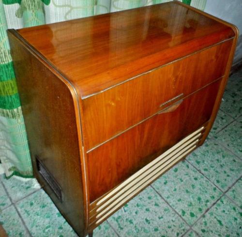 radio consola antigua grundig majestic
