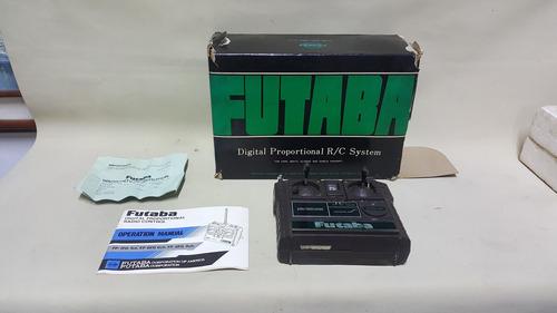 radio control antiguo futaba japones en estuche de colección