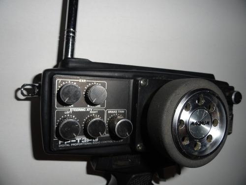 radio control futaba magnum junior (2 canales am)