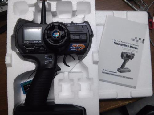 radio control nuevo hk programable con volante 2,4 ghz