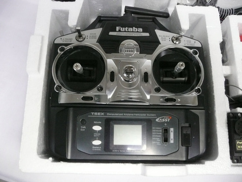 radio control r/c. futaba 6ex seis canales