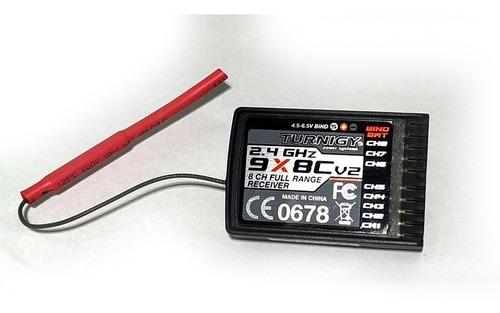 radio control turnigy 9x (9 canales) mas receptor, en caja