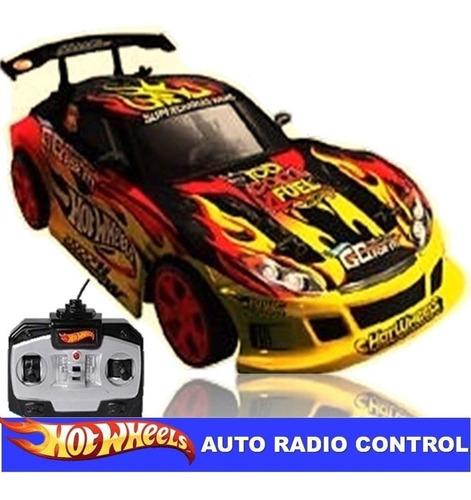 radio controlado hot wheels extreme rc amarillo d. gratis