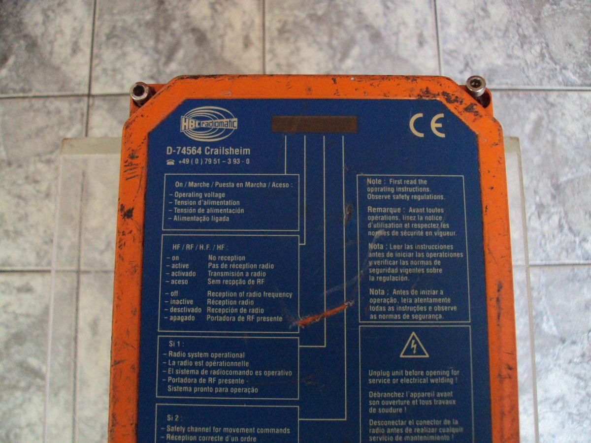 Radio Controle Hbc Radiomatic System 722 No Estado!!!