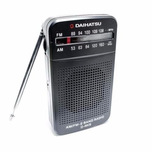 radio daihatsu drk9 am/fm con auriculares