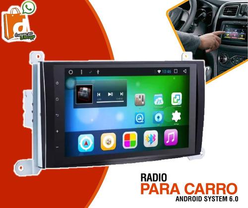 radio de auto adroid gps con bluetooth