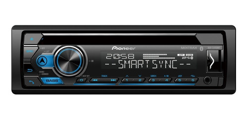 radio de carro pioneer bluetooth  deh-s4150bt + cd + usb