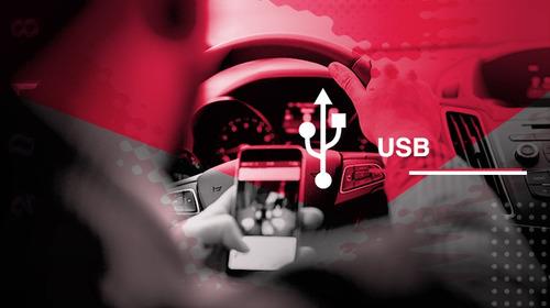 radio de carro pioneer bluetooth mvh-g215bt doble din+  usb