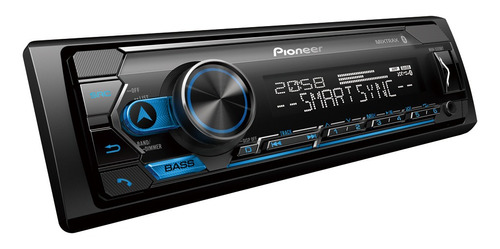 radio de carro pioneer bluetooth mvh-s325bt mixtrack spotify