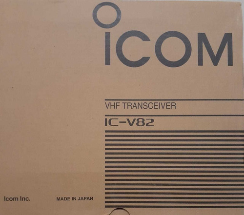 radio de comunicación icom v82