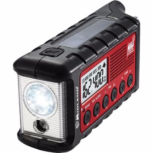 radio de emergencia midland er310 celda solar recargable