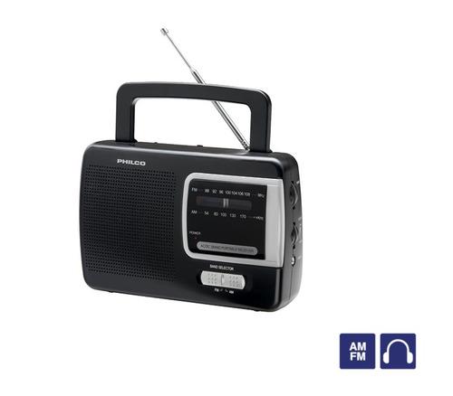 radio de mesa am / fm philco prm50 envío gratis
