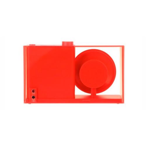 radio de mesa fm flow soporte antideslizante-rojo