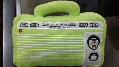 radio de peluche