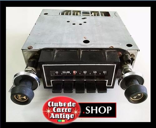rádio delco gm - chevy, chevelle, camaro e corvette