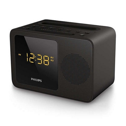 radio despertador philips ajt5300/37 altavoz fm bluetooth