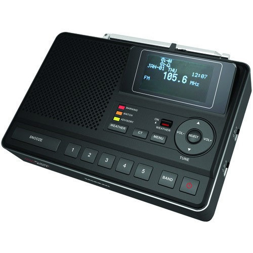 radio digital reloj alarma despertador sangean cl-100 unico