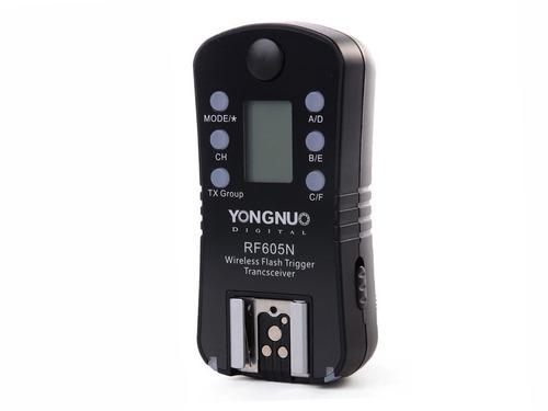radio disparador yongnuo rf605  nikon/canon - una unidad  / garantia / factura a y b / envio gratis /
