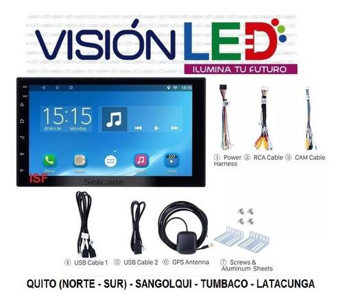 radio doble din android 8.1 pantalla bluetooth gps mp5 mp3