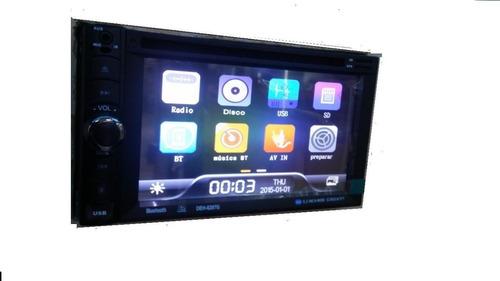 radio doble din touchscreen bluetooth dvd tv sd usb gps
