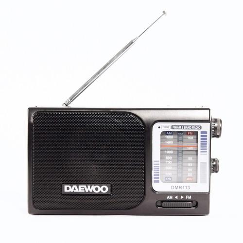 radio dual am/fm daewoo dmr-113 - aj hogar