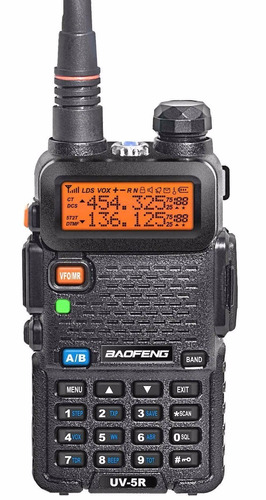 rádio dual band baofeng uv-5r 136-174/400-520 mhz + forte