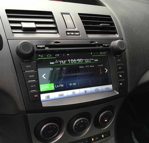 radio dvd gps android mazda 3 all new 2011-2014