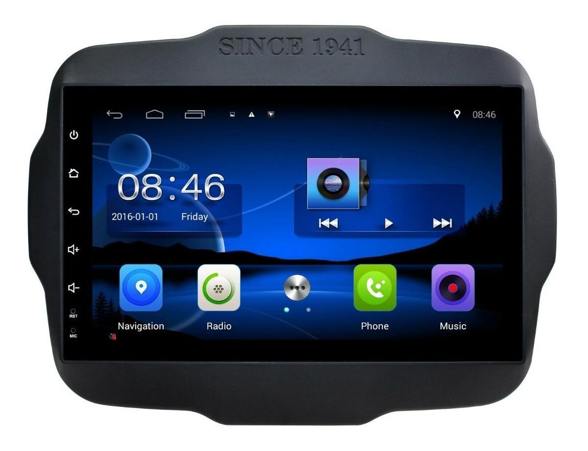 Radio Dvd Gps Jeep Renegade Android 8
