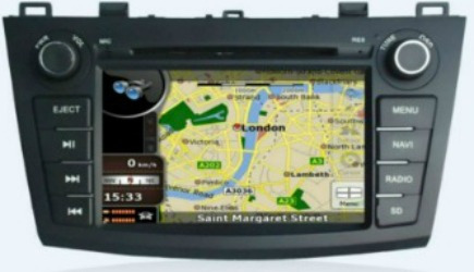 radio dvd gps original mazda 3 all new 2010/11/12 + camara