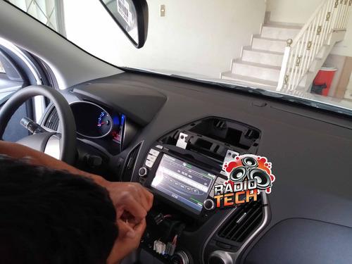 radio dvd hyundai tucson ix - instalacion en todo el ecuador