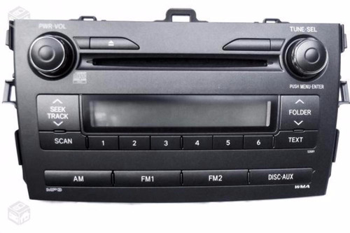 radio dvd mp3 corolla