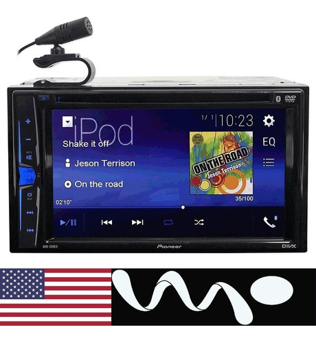 radio dvd pioneer bluetooth / cd / usb touch iphone/android