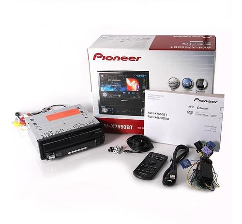 radio dvd pioneer original modelo avh-x7550bt