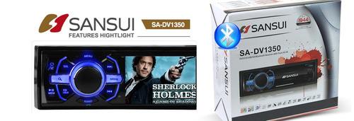 radio dvd/cd/usb/bluetooth - pantalla 3 -sansui sa-dv1350